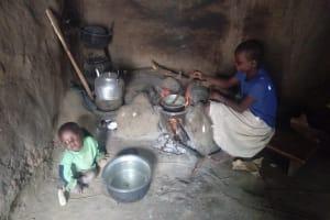 The Water Project: Bukhaywa Community, Ashikhanga Spring -  Cooking On Stove