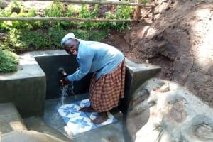 The Water Project: Buhayi Community, Nasichundukha Spring -  Joy