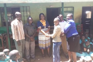 The Water Project: Makunga Primary School -  Handing Over The Project To The School