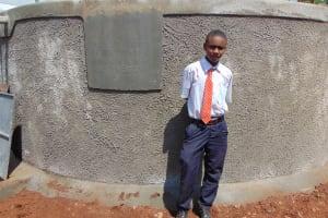 The Water Project: Ikumba Secondary School -  Patrick Kitili