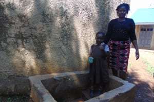 The Water Project: Mwanzo Primary School -  Noeline And Catherine