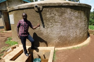 The Water Project: Erusui Secondary School -  Field Officer Victor Musemi