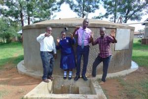The Water Project: St. Stephen Maraba Secondary School -  Principal Phelistus Student And Samidi