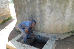 The Water Project: Muyere Secondary School -  Bernard Isavwa