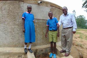 The Water Project: Eshiamboko Primary School -  Students With Mr Olocho