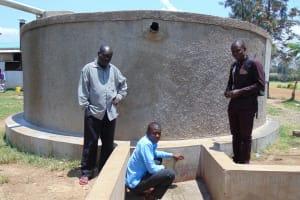 The Water Project: Joyland Special Secondary School -  Mr Opiyo Solomon And Samuel