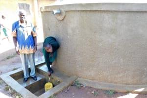 The Water Project: Bushili Primary School -  Head Teacher Mashishia With Vanessa