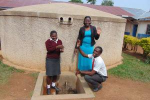 The Water Project: Imusutsu High School -  Smarone Doreen And Student
