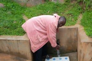 The Water Project: Chandolo Community, Joseph Ingara Spring -  Joseph Ingara At His Spring