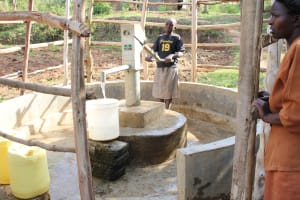 The Water Project:  Margaret At The Pump