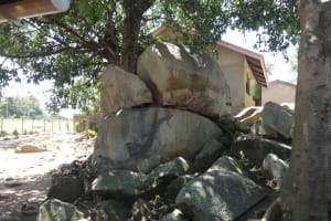The Water Project: Mwichina Primary School -  Rocky Landscape