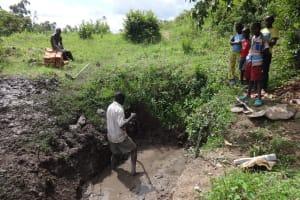 The Water Project: Eshikhugula Community, Shaban Opuka Spring -  Kids Look On