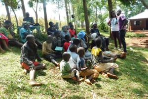 The Water Project: Mutao Community, Kenya Spring -  Training In Progress