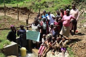 The Water Project: Shamiloli Community, Kwasasala Spring -  Thank You