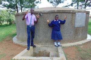 The Water Project: St. Stephen Maraba Secondary School -  Phelistus Right With Student