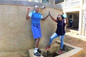 The Water Project: Eshisenye Girls Secondary School -  Everline With Jacklyne