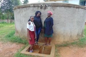 The Water Project: Shikhondi Girls Secondary School -  Trinix Shikanga Laura And Mrs Mutanyi