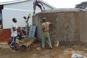 The Water Project: Ikumba Secondary School -  Dome Construction