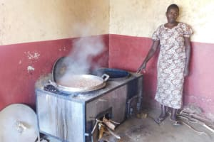 The Water Project: Ebukhuliti Primary School -  School Cook At Work