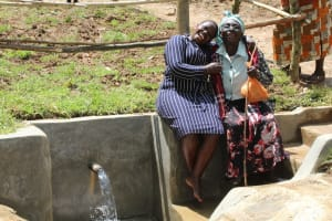 The Water Project: Shamiloli Community, Kwasasala Spring -  Joy