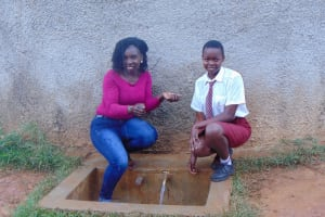 The Water Project: Shikhondi Girls Secondary School -  Laura And Trinix