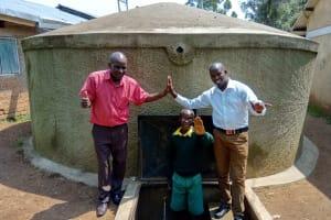 The Water Project: Jidereri Primary School -  Mr Maloha Abraham And Jonathan