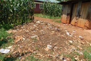 The Water Project: Ebukhuliti Primary School -  Garbage Pit