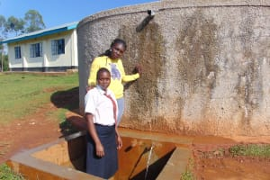 The Water Project: Shitoli Secondary School -  Laura And Barbra