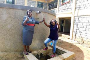 The Water Project: Eshisenye Girls Secondary School -  Principal Osore With Jacklyne