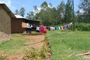 The Water Project: Bukhaywa Community, Shidero Spring -  Clothesline