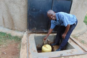 The Water Project: Kamuluguywa Secondary School -  All Smiles For Flowing Water