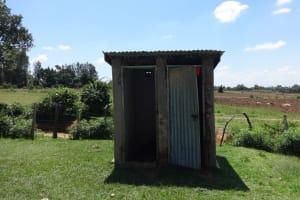The Water Project: Mwichina Primary School -  Latrine