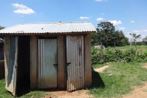 The Water Project: Mwichina Primary School -  Latrines