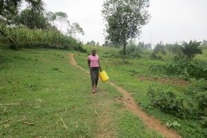 The Water Project: Sambaka Community, Sambaka Spring -  Path To The Spring