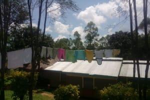 The Water Project: Bukhaywa Community, Ashikhanga Spring -  Clothesline