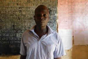 The Water Project: Ebukhuliti Primary School -  Senior Teacher Mr Nyamwanga