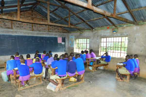 The Water Project: Kapkures Primary School -  Students In Class