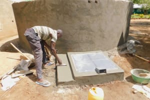 The Water Project: Makunga Primary School -  Construction Of Manhole Cover