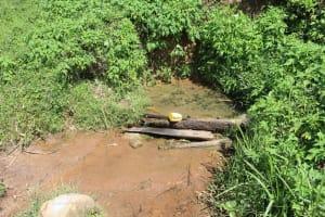 The Water Project: Kalenda A Community, Webo Simali Spring -  Webo Simali Spring