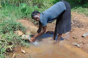 The Water Project: Musiachi Community, Mutuli Spring -  At The Spring