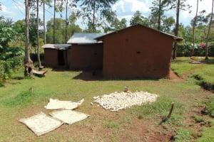 The Water Project: Musiachi Community, Mutuli Spring -  Clothes Laying Out Dry