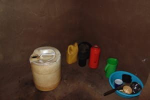 The Water Project: Musiachi Community, Mutuli Spring -  Water Storage Container