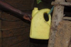 The Water Project: Mubinga Community, Mulutondo Spring -  Handwashing Station