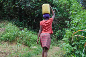 The Water Project: Mubinga Community, Mulutondo Spring -  Walking With Water