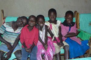 The Water Project: Maondo Community, Ambundo Spring -  Children
