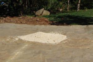 The Water Project: Maondo Community, Ambundo Spring -  Maize Drying