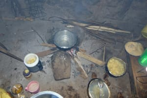 The Water Project: Rosterman Community, Lishenga Spring -  Cooking Area