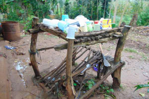 The Water Project: Rosterman Community, Lishenga Spring -  Dishrack