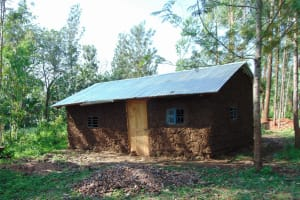 The Water Project: Rosterman Community, Lishenga Spring -  Homestead