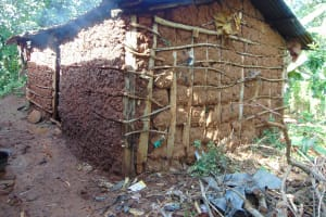 The Water Project: Rosterman Community, Lishenga Spring -  Kitchen